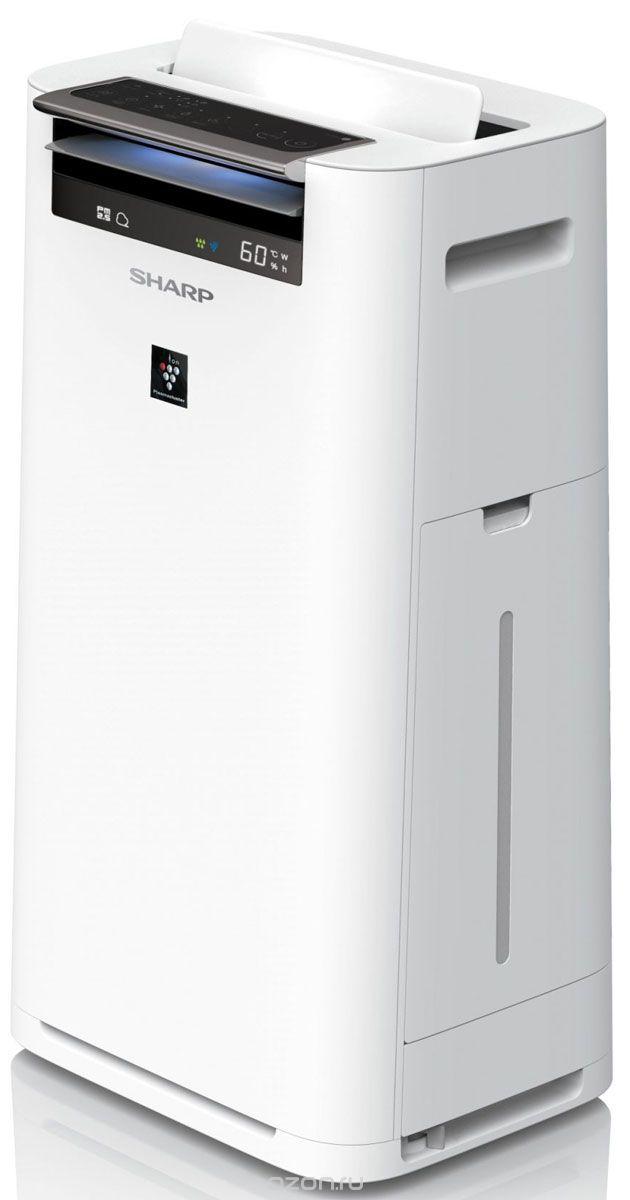 цена Очиститель воздуха Sharp KC-G41RW, белый онлайн в 2017 году