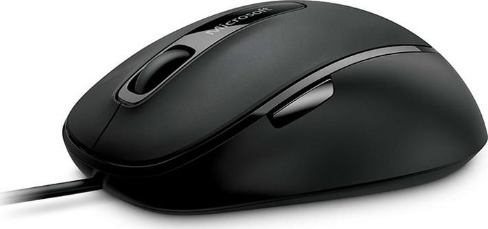 лучшая цена Мышь Microsoft Comfort 4500, оптическая, черный