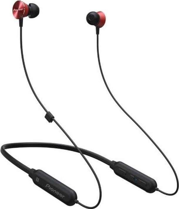 Беспроводные наушники Pioneer SE-QL7BT, красный наушники беспроводные pioneer se e7bt r красные с микрофоном