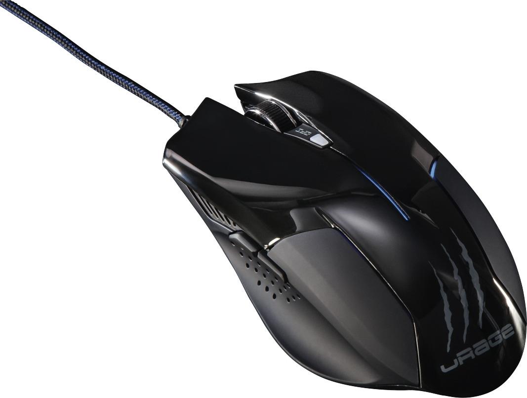 Фото - Мышь Hama uRage evo, 00062889, черный клавиатура мышь hama urage illumination r1113768