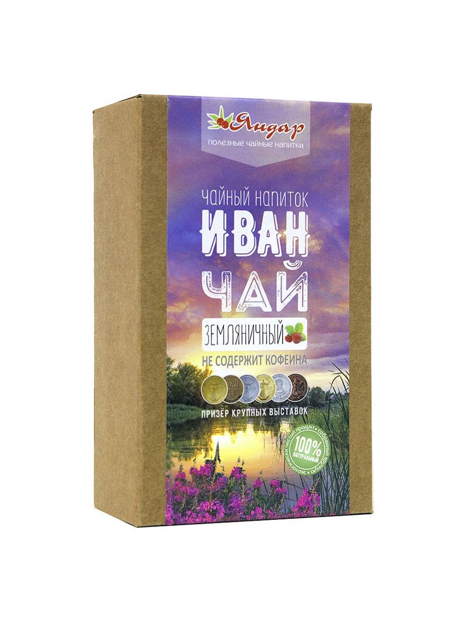Чай листовой Яндар Иван-чай Земляничный, 100