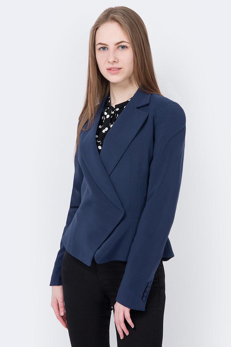 Жакет oodji жакет женский oodji collection цвет темно синий 73205182 1 31328 7900n размер xs 42