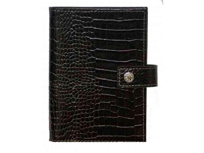 Обложка для документов Neri Karra 0031S.1-35.01, черный обложка для паспорта женская neri karra цвет белый красный 01402 02 12 05