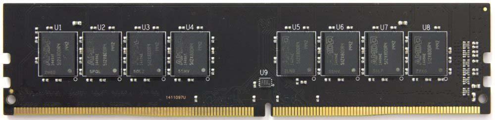 Модуль оперативной памяти AMD Radeon DDR4 16Gb 2400Mhz Long DIMM, R7416G2400U2S AMD