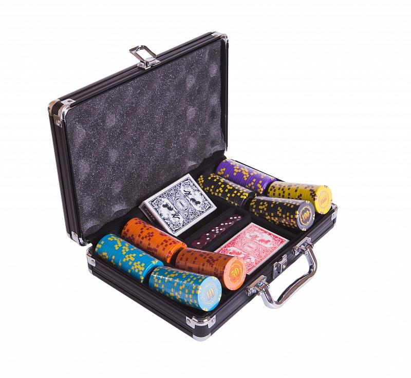 Набор для покера Partida Compas на 200 фишек цена