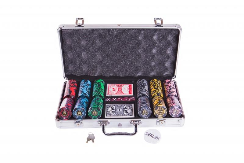 Набор для покера Partida Lux на 300 фишек маска медицинская защитная latio классик 50шт