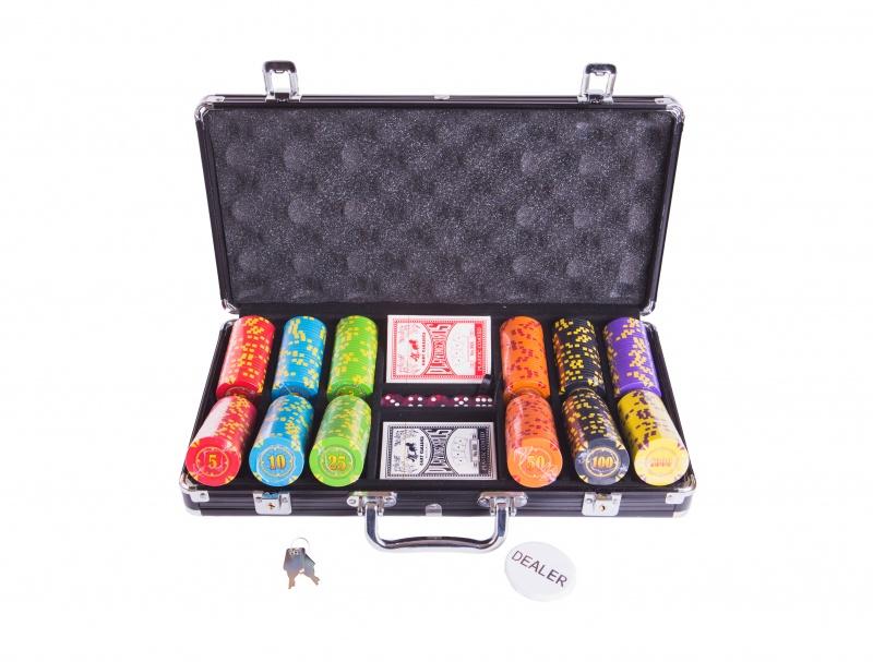 Набор для покера Partida Compas на 300 фишек маска медицинская защитная latio классик 50шт