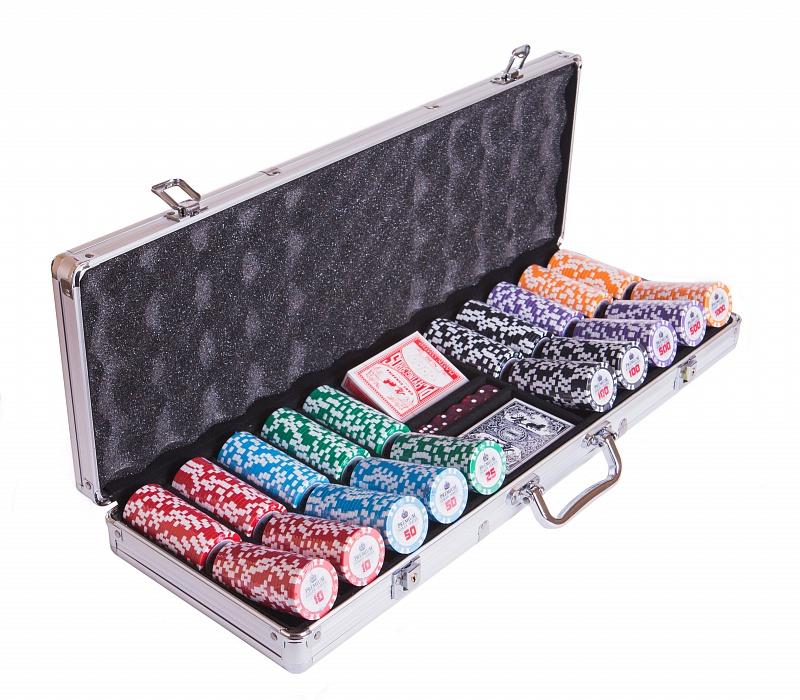 Набор для покера Partida Premium Crown на 500 фишек цена
