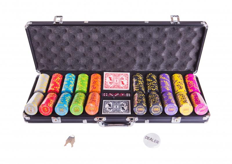 Набор для покера Partida Compas на 500 фишек цена