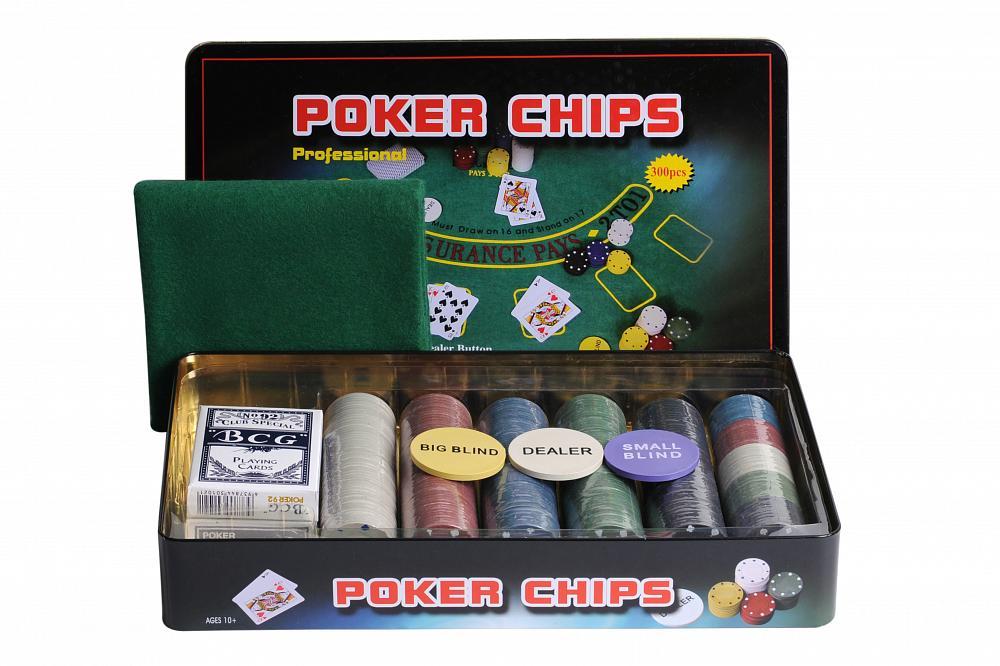 Набор для покера Partida Holdem Light на 300 фишек без номинала набор для покера partida compas на 300 фишек