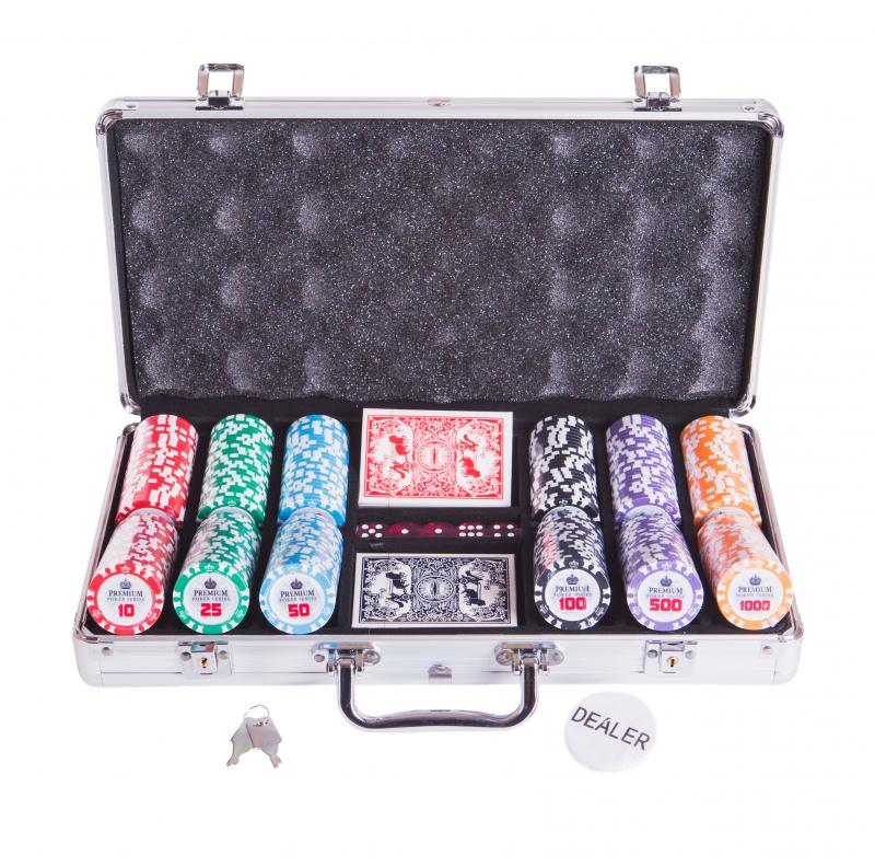 Набор для покера Partida Premium Crown на 300 фишек маска медицинская защитная latio классик 50шт