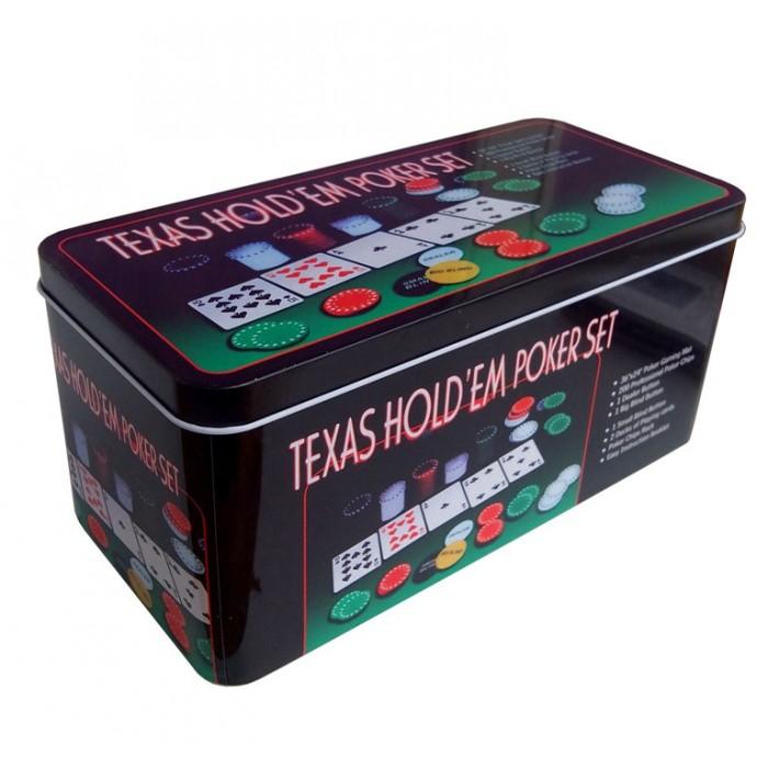 Набор для покера Partida Holdem Light на 200 фишек с номиналом фишки для покера с номиналом 11 5 г 25 штук