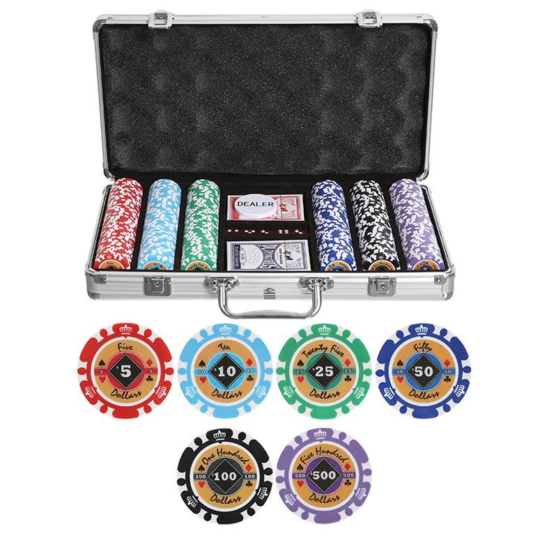 Набор для покера Partida Crown на 300 фишек набор для покера partida compas на 300 фишек