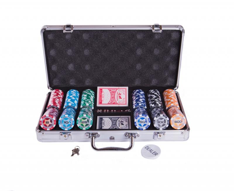 Набор для покера Partida Star на 300 фишек цена