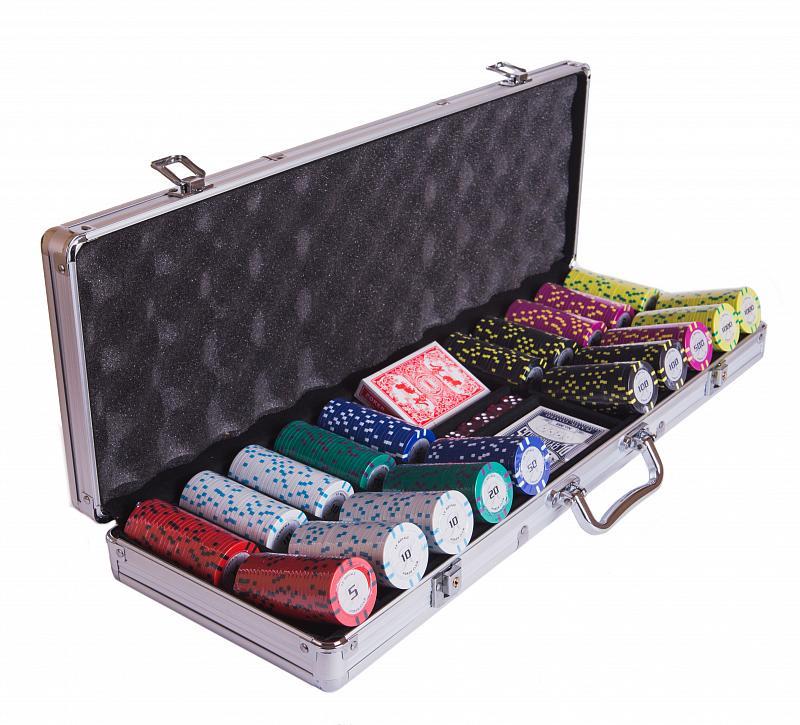 Набор для покера Partida Le Royale на 500 фишек цена