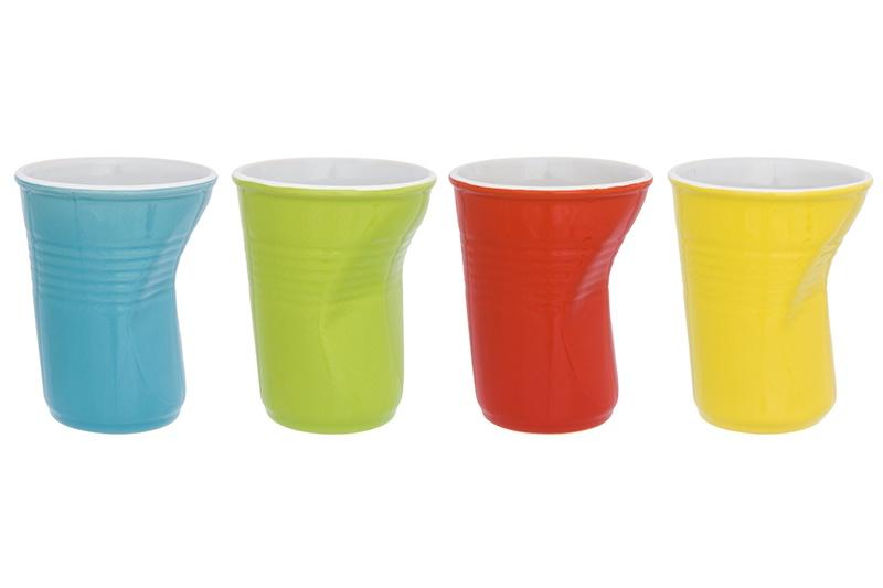 Фото - Стаканы Elan Gallery Разноцветные 4 штуки 320 мл набор стаканов elan gallery разноцветные 4 предмета