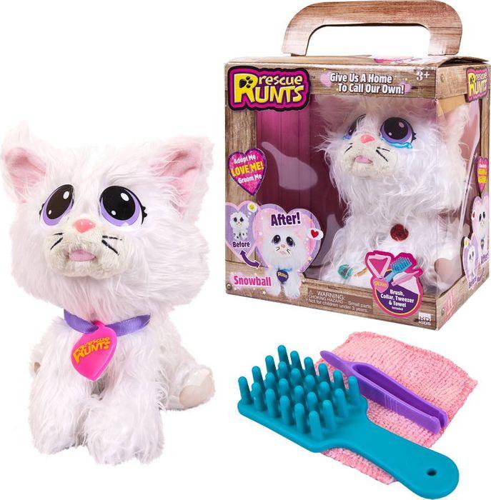 Мягкая игрушка ABtoys Кошка плюшевая Спаси друга! 21,2 см, S18055