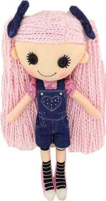 Кукла ABtoys джинсовая, M6027