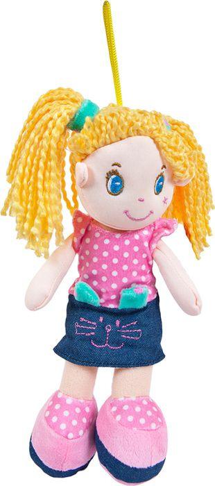 Кукла ABtoys блондинка в джинсовой юбочке, M6024