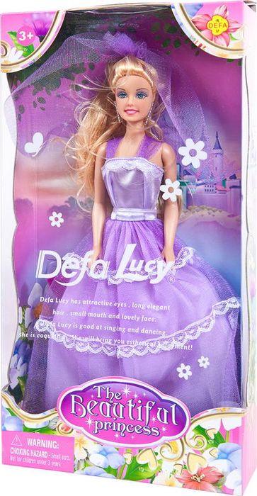 Кукла Defa Toys Принцесса, 8065d, в ассортименте цена