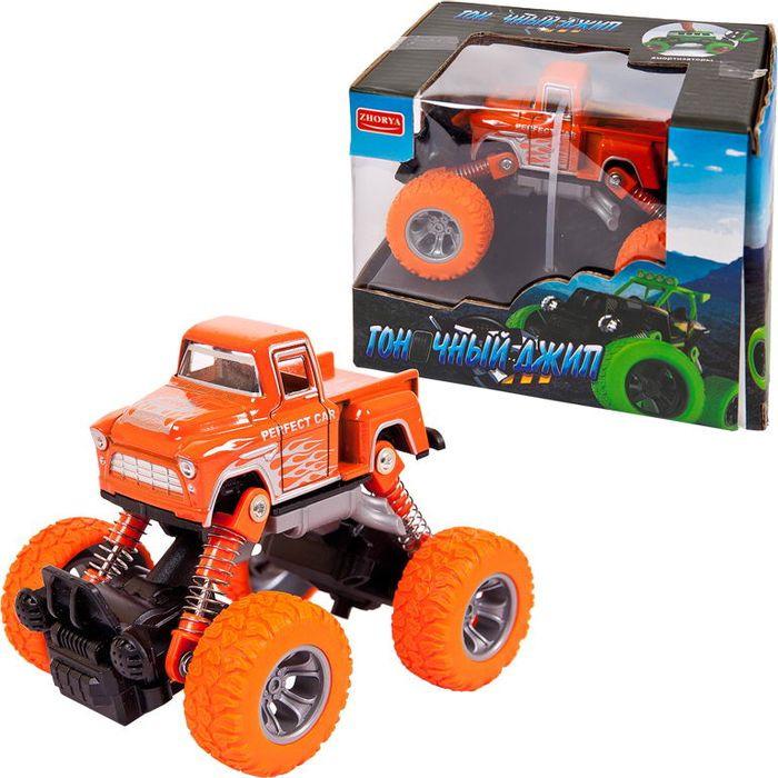 Машинка Junfa Toys Джип Автомаркет инерционная, ZY813453 инерционная машинка yako джип цвет в ассортименте ytm6544 1