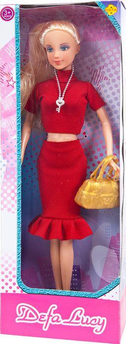 Кукла Defa Toys с сумочкой, 8365d, в ассортименте цена