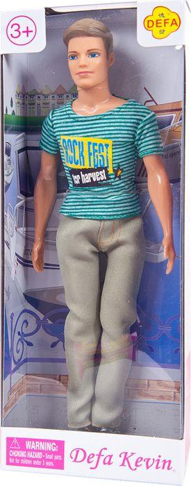 Кукла Defa Toys Юноша в футболке, 8372d, в ассортименте цена