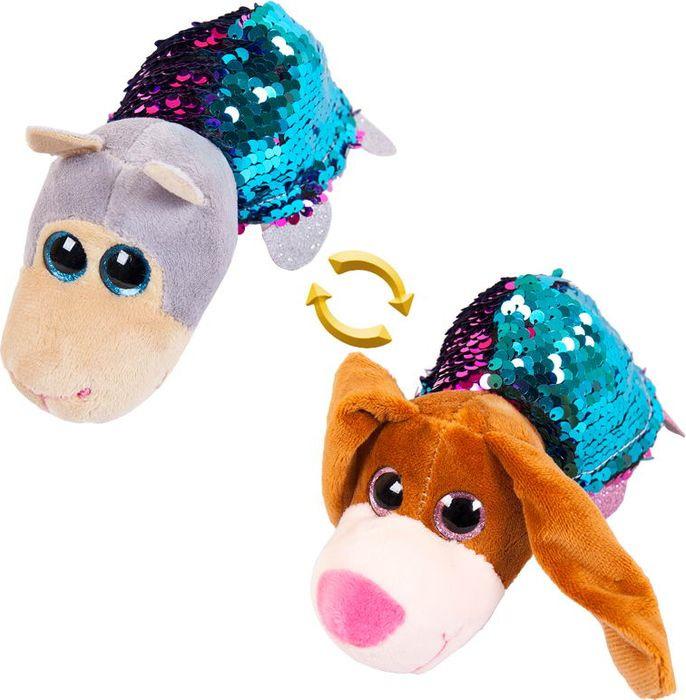 Мягкая игрушка ABtoys Перевертыши Собака Овечка 8 см, M5023 мягкие игрушки lapa house собака сумка 24 см