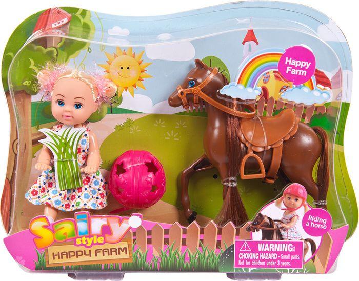 Кукла Defa Toys Sairy Style Happy Farm, 8390d, в ассортименте цена