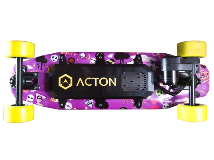 Скейтборд Acton Blink Board, фиолетовый