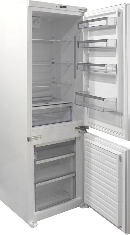 Холодильник Zigmund & Shtain BR 08.1781 SX встраиваемый однокамерный холодильник zigmund amp shtain br 12 1221 sx