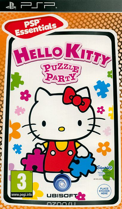 Hello Kitty Puzzle Party (Essentials) (PSP)