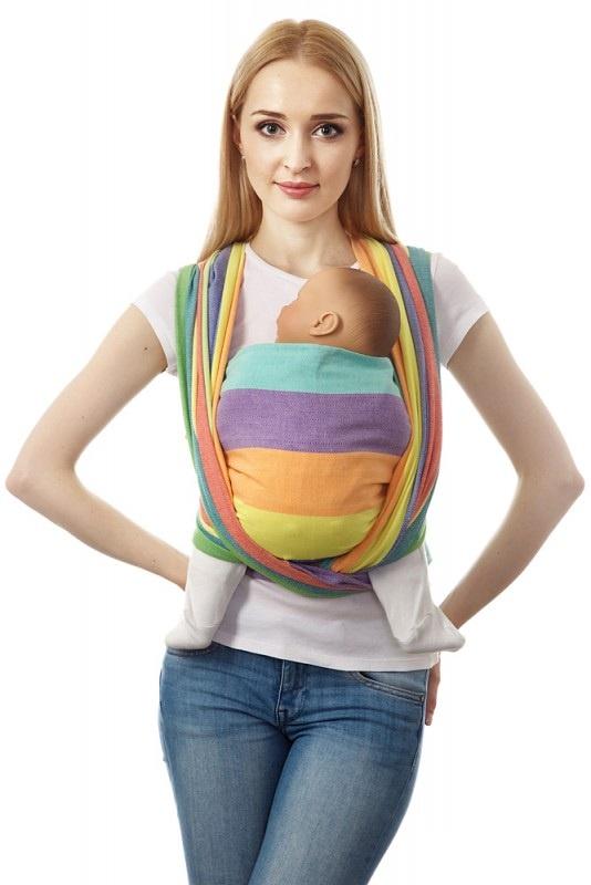 Слинг 34996 разноцветный mum s era слинг шарф сердца