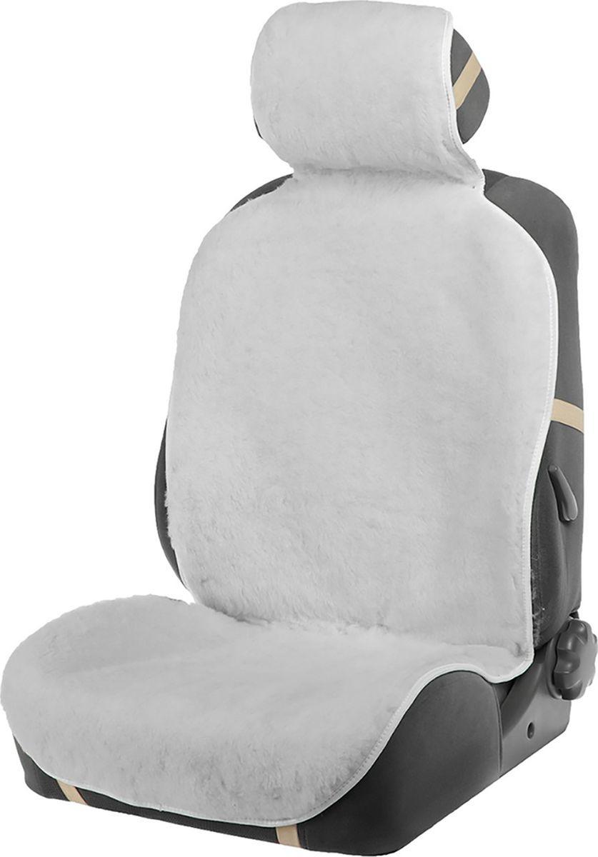 Накидка на сиденье, 3909755, белый, 145 х 55 мм накидка на сиденье nova bright 120х43см
