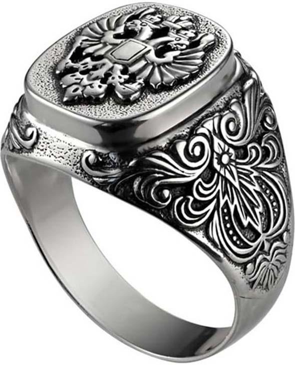 Кольцо Самородок Отечество, серебро 925, 21,5, 6-0040-000СереброМужское кольцо из черненого серебра • Не замеряйте замерзшие пальцы, в этот момент их размер отличается от обычного. Для точного определения размера, замеряйте ваш палец в конце дня, когда его размер является наибольшим. • Определите, размер какого пальца вам необходимо узнать. Помолвочные и обручальные кольца принято носить на безымянном пальце правой руки. • Если вам подходят два размера, стоит выбрать больший. • Если сустав шире самого пальца – измеряйте диаметр сустава. • Если вы хотите приобрести кольцо с ободком шире 4 мм, его размер должен быть примерно на полразмера больше обычного.