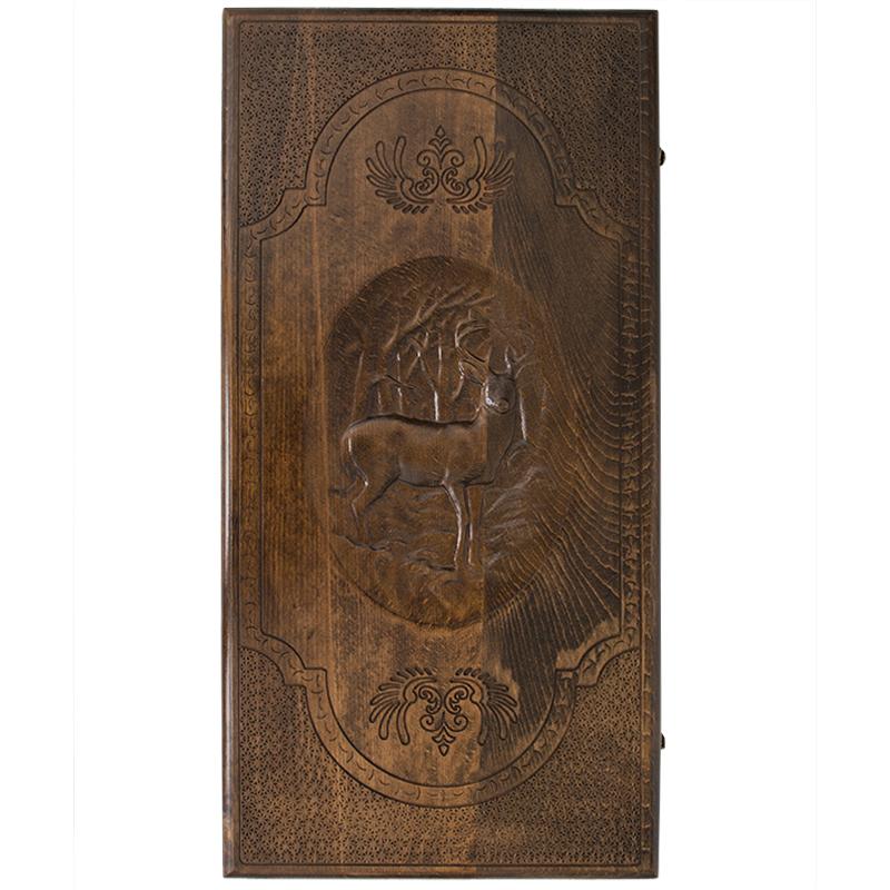 Нарды Ustyan резные «Олень» нарды ustyan резные египетские боги