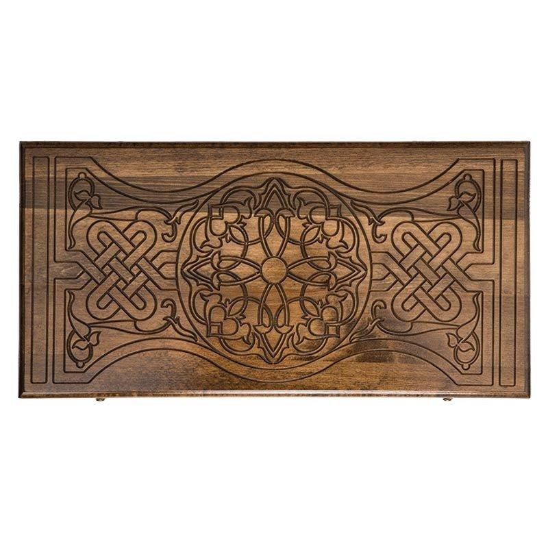 Нарды Ustyan резные «Орнамент-2» нарды ustyan резные египетские боги