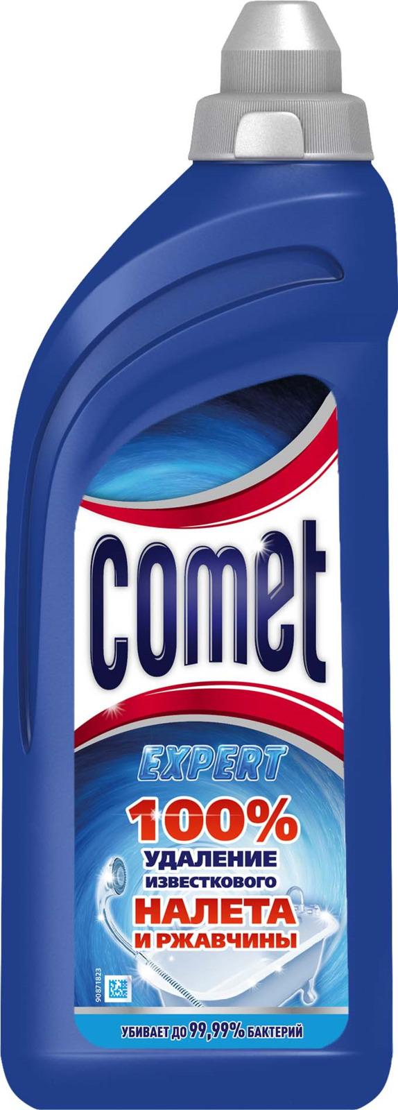Гель чистящий Comet, для ванной комнаты, 500 мл comet чистящий гель лимон 500мл