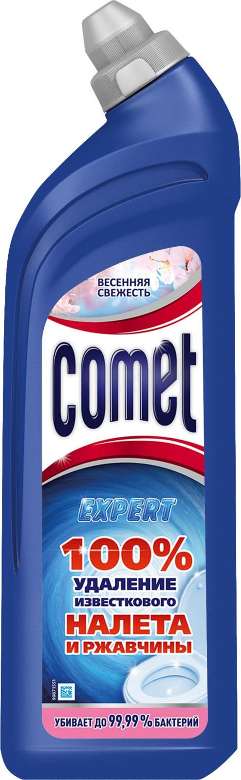 Средство чистящее для туалета Comet, весенняя свежесть, 750 мл средство чистящее для туалета comet весенняя свежесть 750 мл