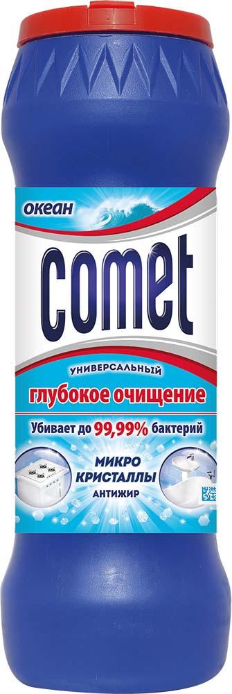 Универсальный чистящий порошок Comet Двойной эффект, с ароматом океана, 475 г aqua comet 12 0g