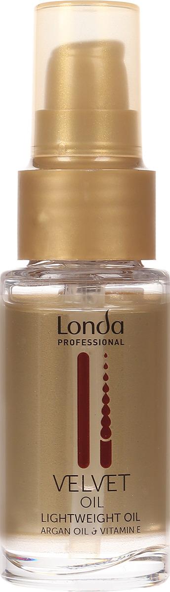 Масло без утяжеления Londa Professional Velvet Oil, 30 мл londa масло аргановое velvet oil 30мл