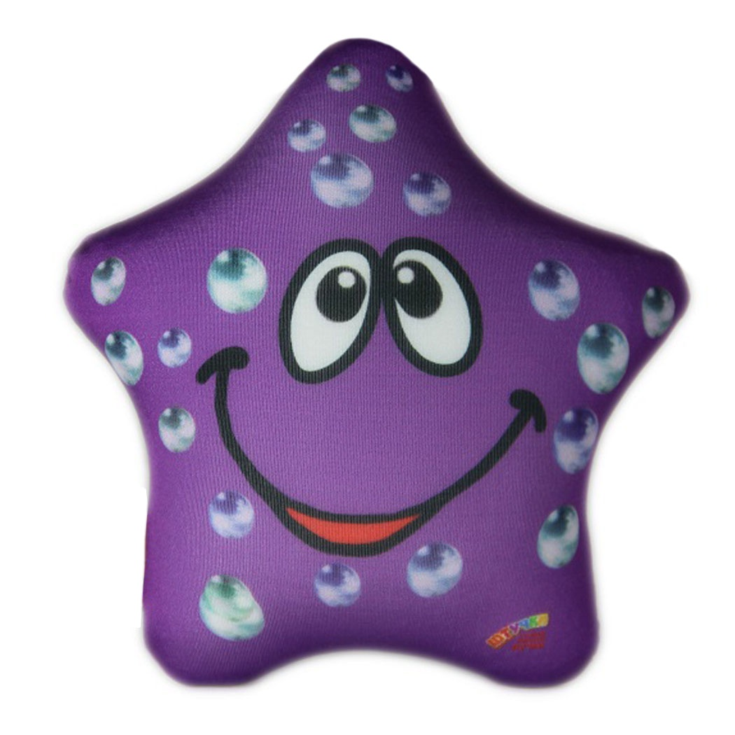 Подушка-игрушка Штучки, к которым тянутся ручки Звезда, фиолетовый