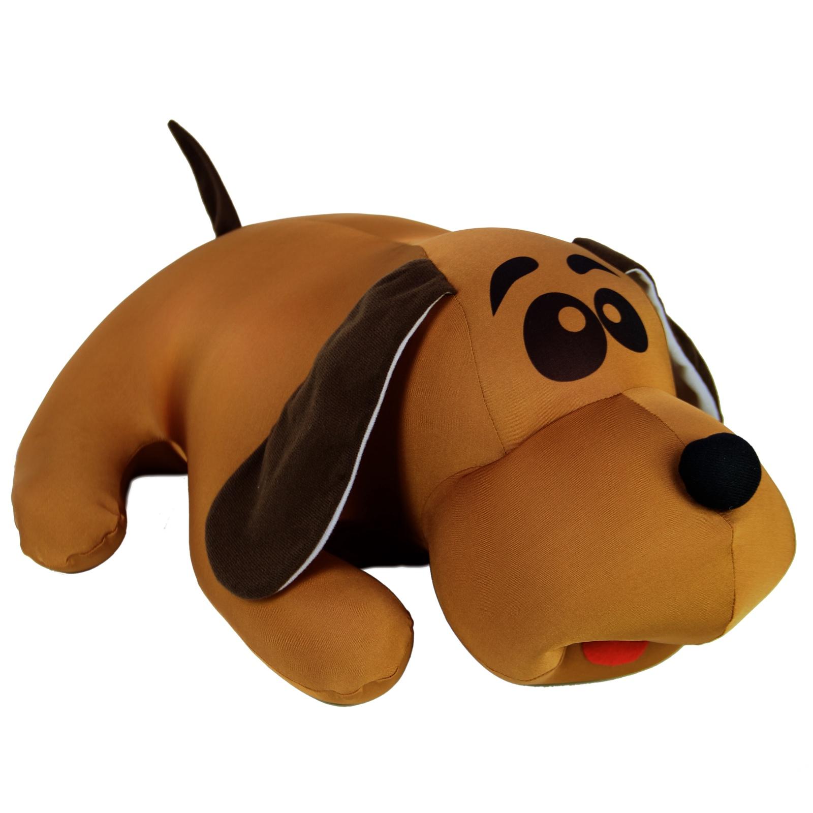 Мягкая игрушка Штучки, к которым тянутся ручки Джой средний коричневый