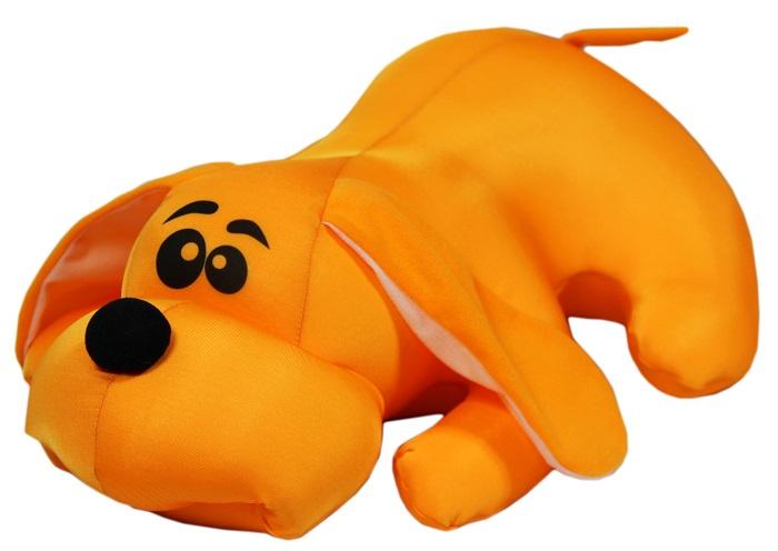 Мягкая игрушка Штучки, к которым тянутся ручки Джой малый оранжевый