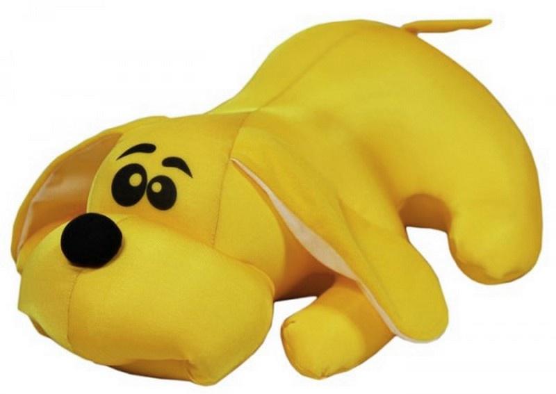 Мягкая игрушка Штучки, к которым тянутся ручки Джой большой желтый