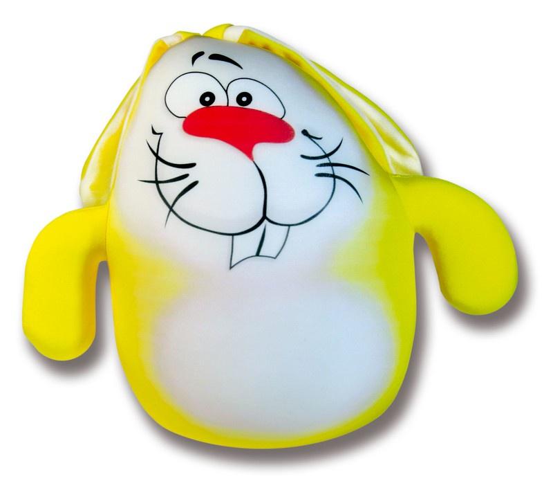 Мягкая игрушка Штучки, к которым тянутся ручки Заяц Саймон желтый