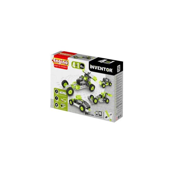 цена на Развивающая игрушка Engino Конструктор INVENTOR Автомобили - 4 модели