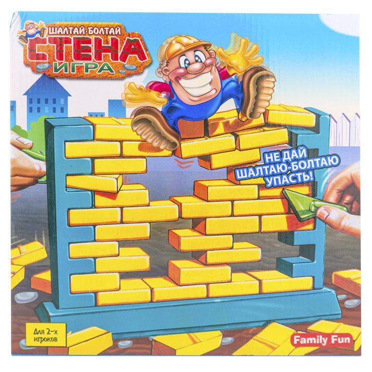 Развивающая игрушка Family Fun Настольная игра Шалтай-Болтай цена