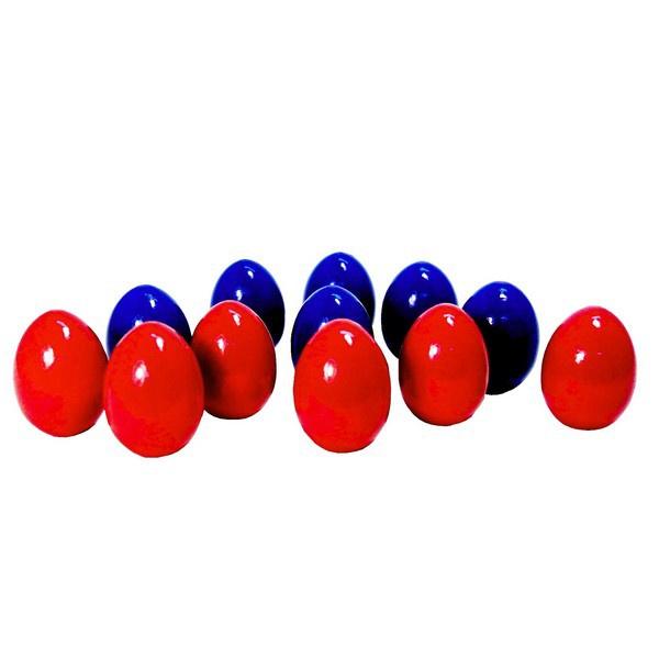 Развивающая игрушка RNToys Счетный материал Яйца 12шт. (красные+синие)