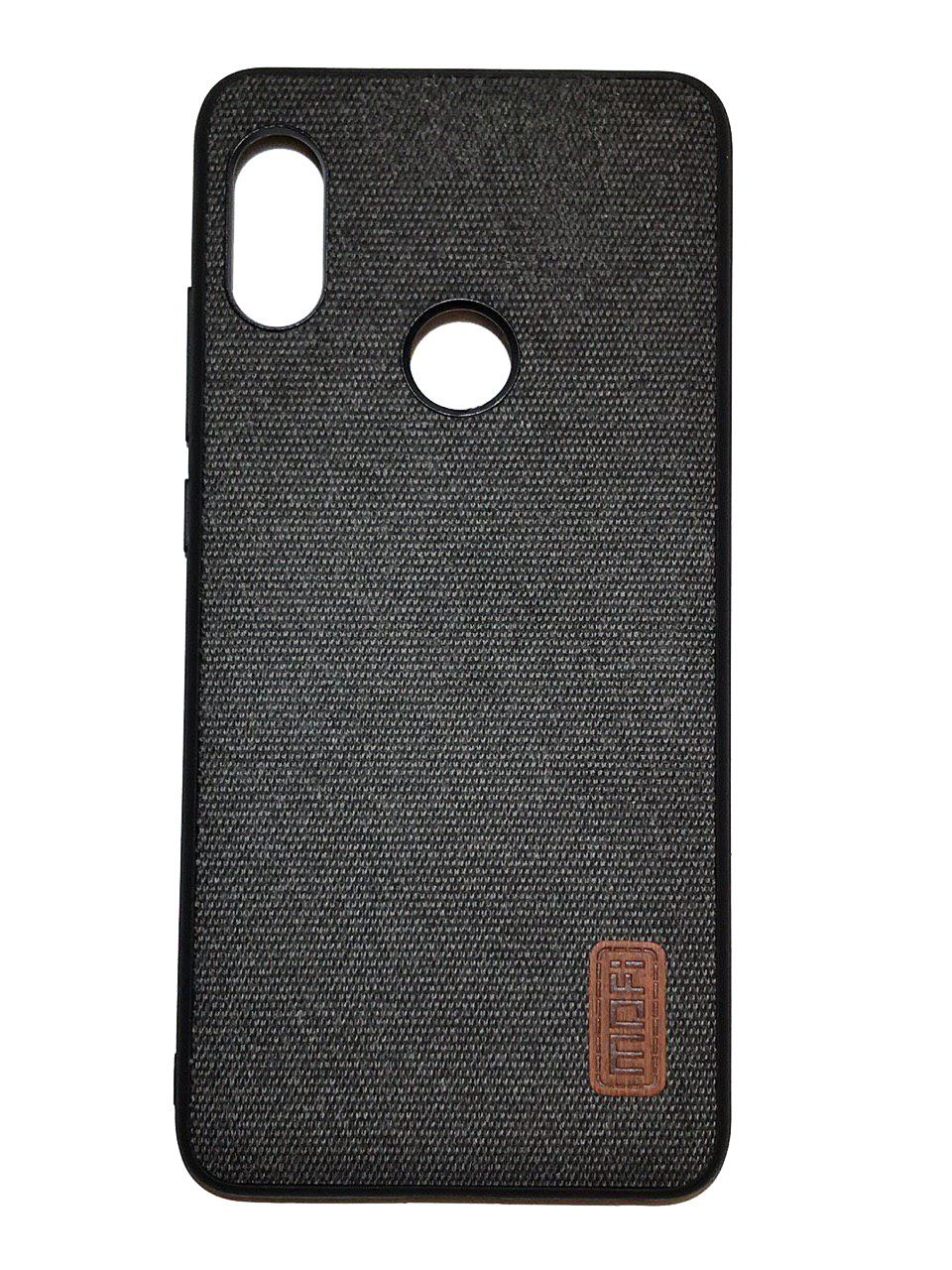 Чехол для Xiaomi Redmi Note 5 Накладка Fabric Xiaomi Redmi Note 5 /Note 5 Pro Black xiaomi redmi note 5